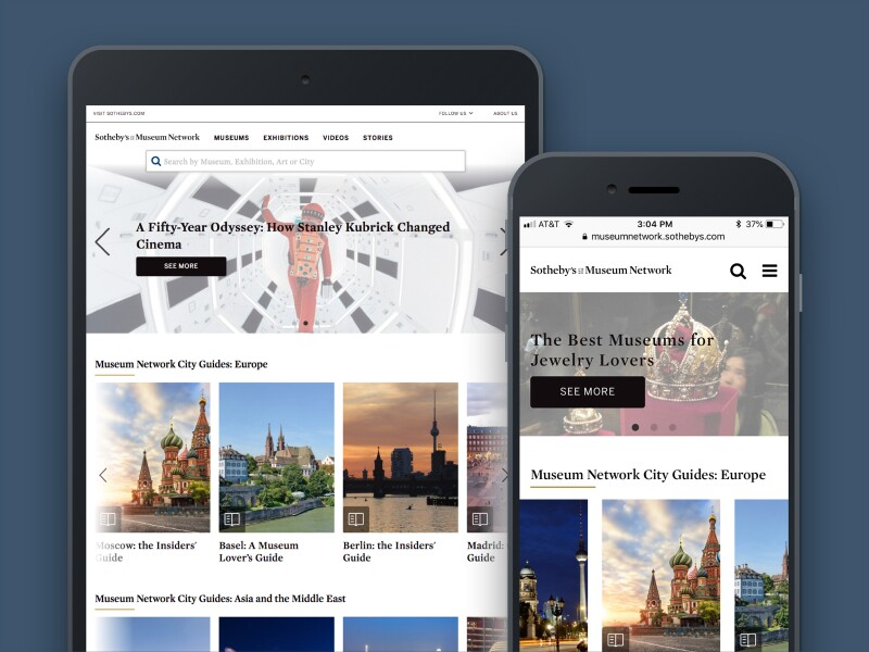 Digital CMS Mobile Example