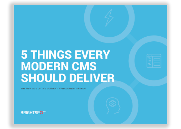 legacy vs. modern cms ebook