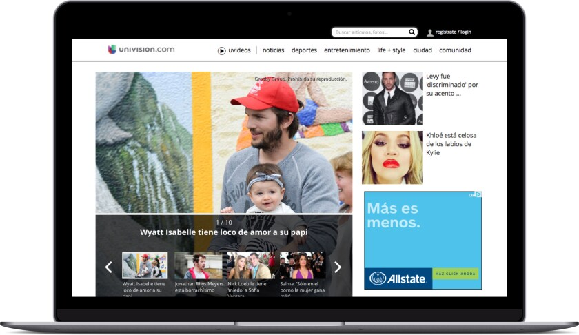 Univision CMS software customer