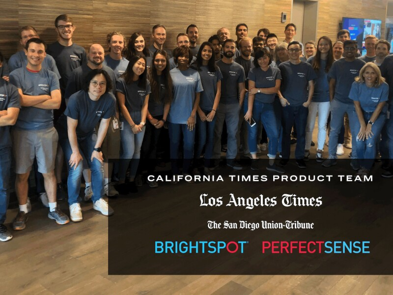 Perfect Sense's California Times Product Team