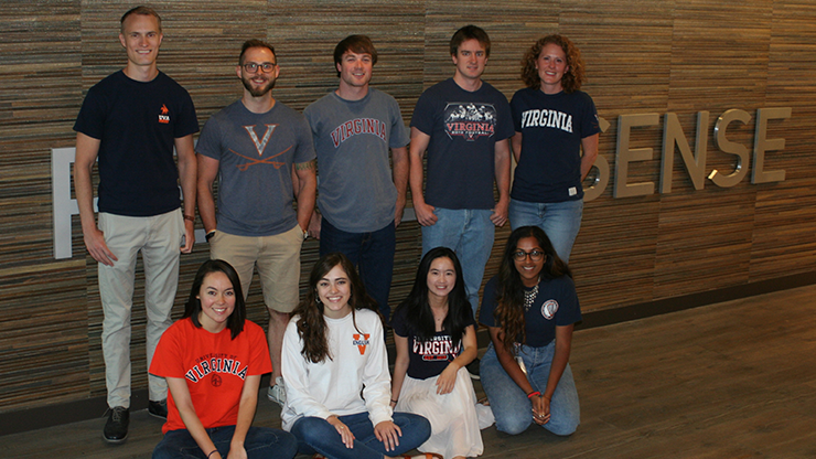 UVA Grads at Perfect Sense