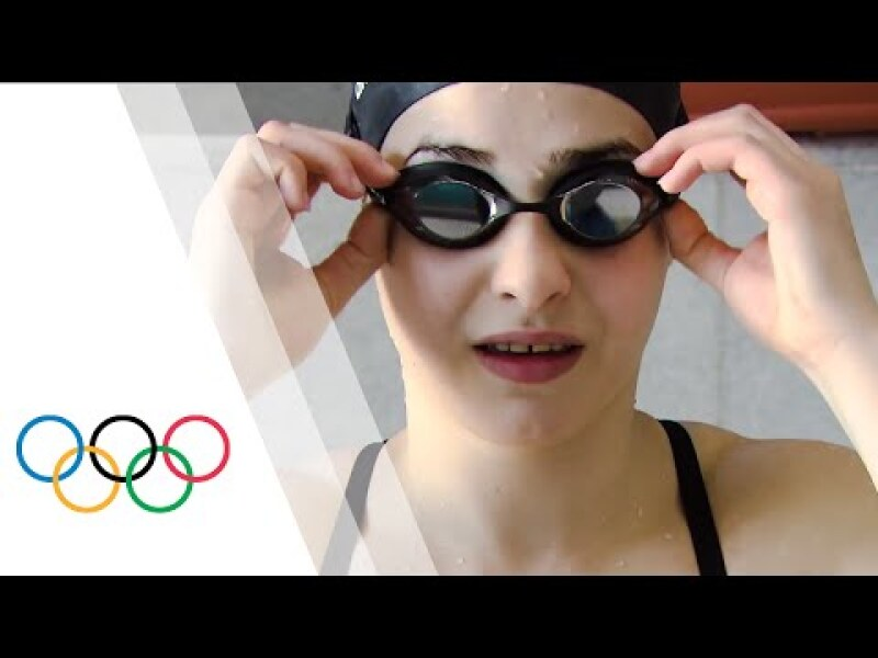 From Syria to Rio 2016 - The story of Yusra Mardini | Refugee Olympic Team