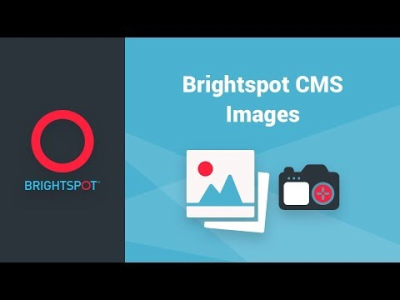 Brightspot CMS Images
