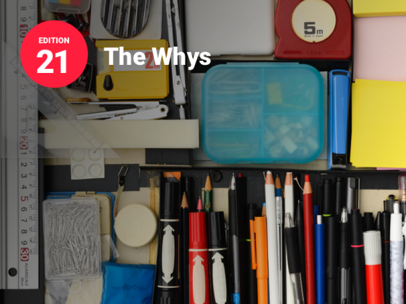 Image shows shelves in a supply closet neatly packed with tools like markers, pends, post-it notes, paper clips, scissors and more to illustrate a post about the resource widget on Brightspot