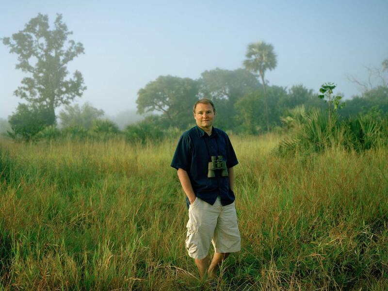 Greg Carr in the Gorongosa National Park